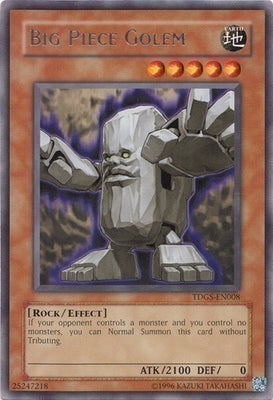 Big Piece Golem - TDGS-EN008 R Unlimited