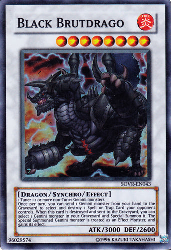 Black Brutdrago - SOVR-EN043 SR Unlimited