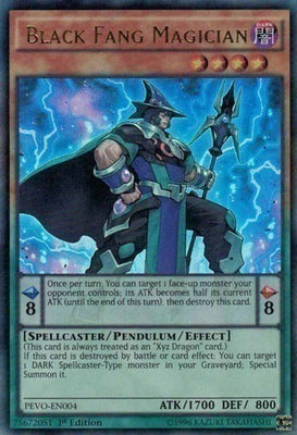 Black Fang Magician - PEVO-EN004 UR Unlimited