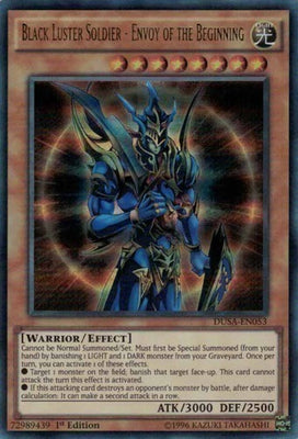 Black Luster Soldier - Envoy of the Beginning - YGLD-ENA02 C Unlimited