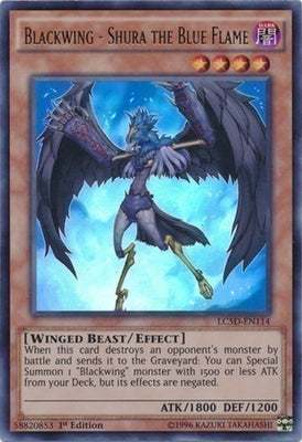Blackwing - Shura the Blue Flame - RGBT-EN011 C Unlimited