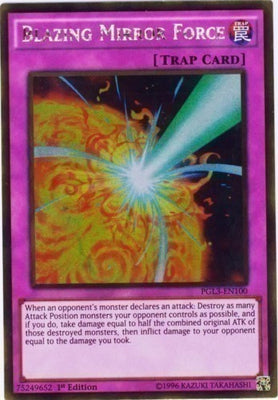 Blazing Mirror Force - DOCS-EN076 Secret Rare Unlimited