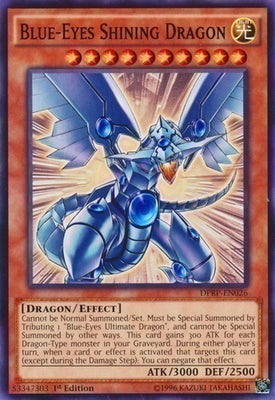 Blue-Eyes Shining Dragon - DPRP-EN026 C 1st