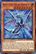 Blue-Eyes Solid Dragon - LED3-EN002 UR 1st