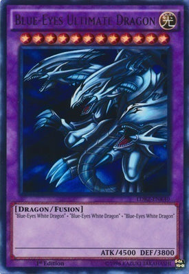 Blue-Eyes Ultimate Dragon - LCKC-EN057 Secret Rare 1st