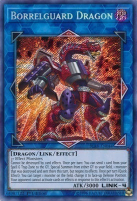 Borrelguard Dragon - BLRR-EN044 Secret Rare Unlimited