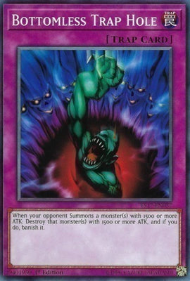 Bottomless Trap Hole - LCJW-EN078 Secret Rare 1st