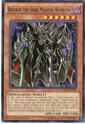 Breaker the Dark Magical Warrior - DUEA-EN040 R 1st