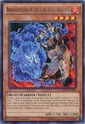 Brotherhood of the Fire Fist - Buffalo - LTGY-EN029 R 1st