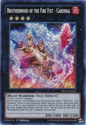 Brotherhood of the Fire Fist - Cardinal - LTGY-EN054 Secret Rare 1st