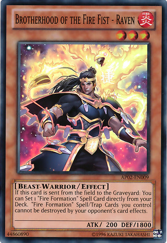 Brotherhood of the Fire Fist - Raven - CBLZ-EN022 C Unlimited