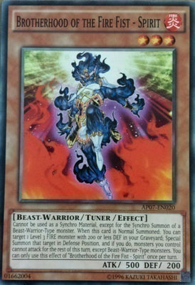 Brotherhood of the Fire Fist - Spirit - AP07-EN020 C Unlimited