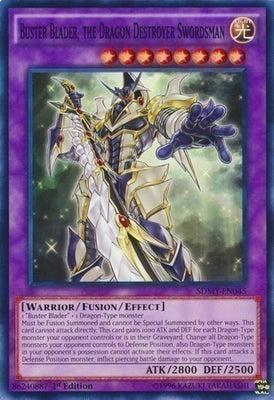 Buster Blader, the Dragon Destroyer Swordsman - MP16-EN210 Secret Rare 1st