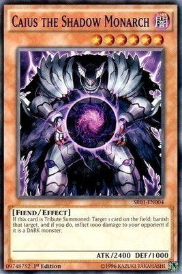 Caius the Shadow Monarch - TU03-EN000 Ulti Unlimited
