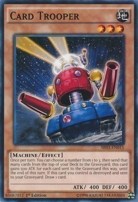 Card Trooper - PGL2-EN028 Gold Rare 1st