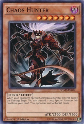 Chaos Hunter - BP02-EN095 R Unlimited