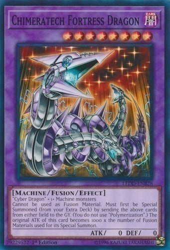 Chimeratech Fortress Dragon - DUSA-EN065 UR 1st