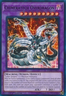 Chimeratech Overdragon - SP14-EN043 Starfoil Rare Unlimited