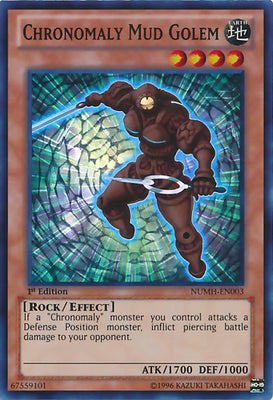 Chronomaly Mud Golem - NUMH-EN003 SR Unlimited