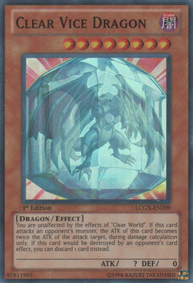 Clear Vice Dragon - SOVR-EN098 Secret Rare Unlimited