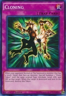 Cloning - RP01-EN094 Secret Rare Unlimited