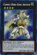 Comics Hero King Arthur - NUMH-EN041 Secret Rare Unlimited