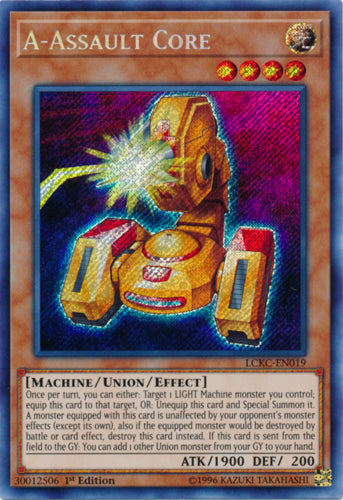 A-Assault Core - LCKC-EN019 Secret Rare Unlimited