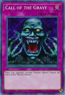 Call of the Grave - LCKC-EN103 Secret Rare Unlimited