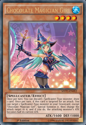 Chocolate Magician Girl - MVP1-ENG52 Gold Rare Unlimited