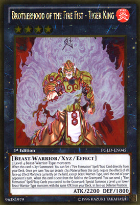 Brotherhood of the Fire Fist - Tiger King - CBLZ-EN048 Ulti 1st