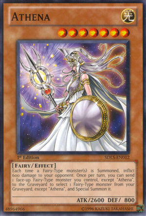 Athena - PP02-EN018 Secret Rare Unlimited