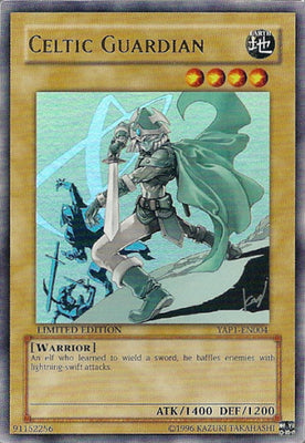 Celtic Guardian - YAP1-EN004 UR Limited Edition