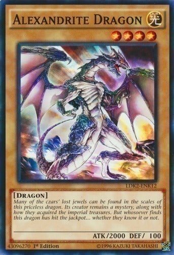 Alexandrite Dragon - BP02-EN004 C 1st