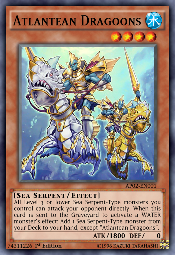 Atlantean Dragoons - SDRE-EN002 SR Unlimited