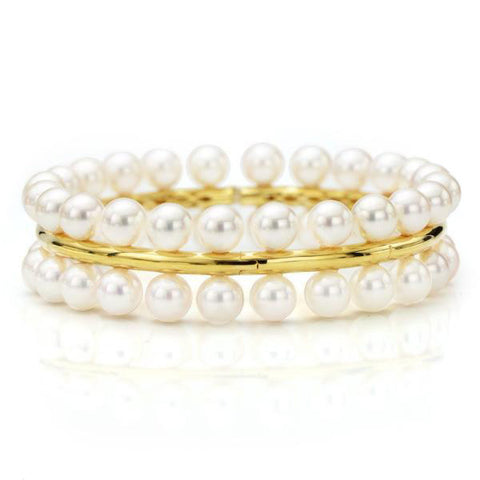 18K-Yellow-Gold-South-Sea-Pearl-Bangle-Bracelet
