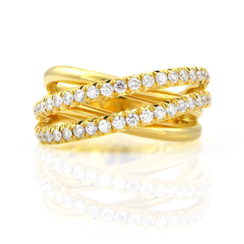 18K & Diamond Ring
