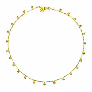 18K Gold Little Berries Necklace