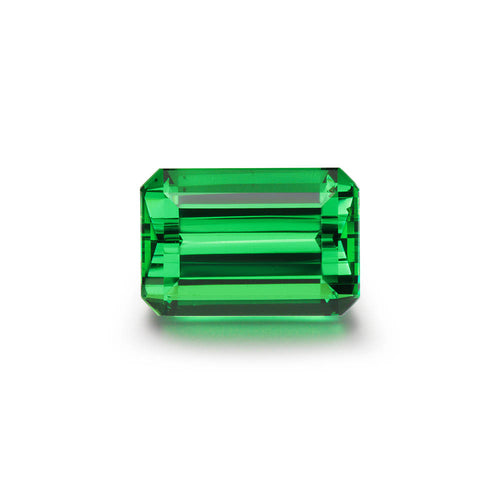 3.68cts. Emerald Cut Tsavorite Gemstone
