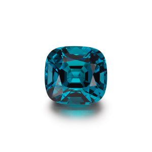 Image of Loose Cushion Cut Natural Indicolite Tourmaline Gem