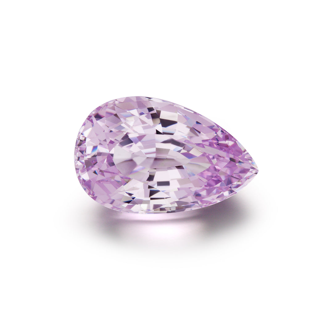 Image of Loose Pear Shaped Lilac Gem