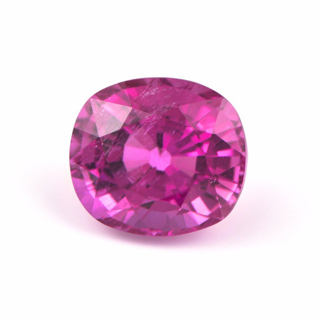 Cushion Rubellite Tourmaline