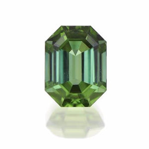 Emerald Cut Blue Green Tourmaline