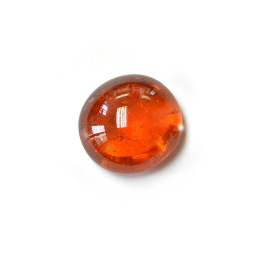 Large Round Orange Spessartite Garnet