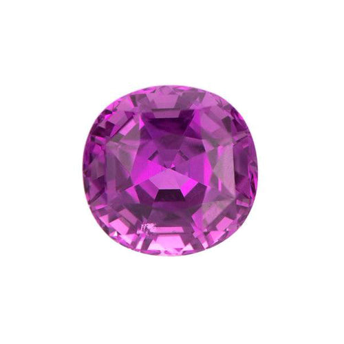 Natural Color Cushion Sapphire
