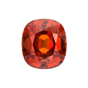 Natural Color Cushion Spessertite Garnet
