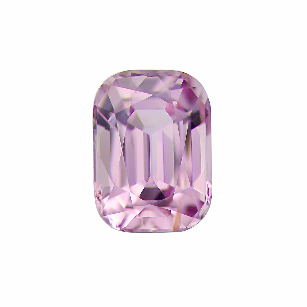 Natural Rectangular Cushion Pink Spinel
