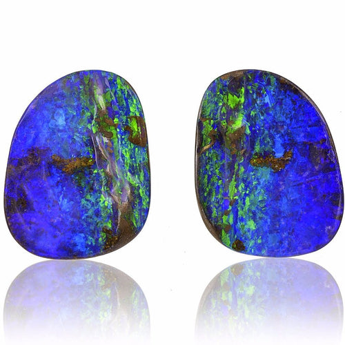 Queensland Boulder Opal Pair