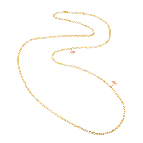 18K Yellow Collier Chain