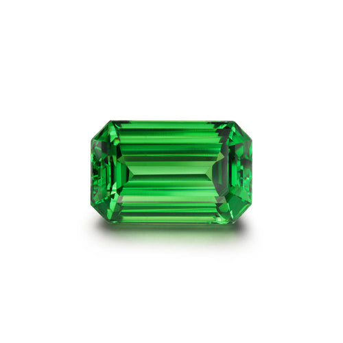 7.77cts. Emerald Cut Tsavorite Gemstone