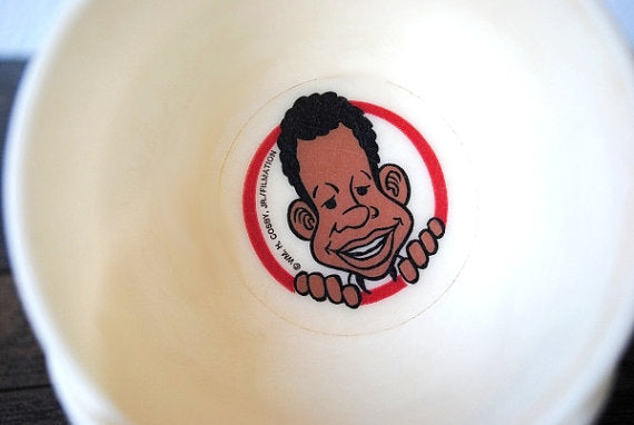 Weird Harold Fat Albert Toy Cereal Box Mini Bowl